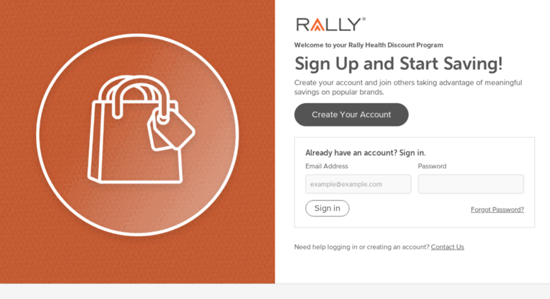 Access Rallyperkspotcom Login Welcome To Your Rally Health