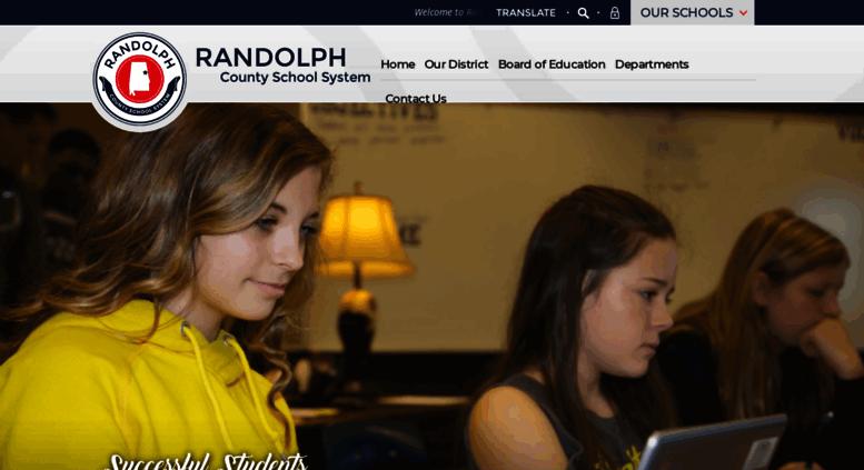 Access randolph k12 al us  Randolph County School System