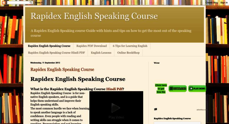 Rapidex English Book Pdf