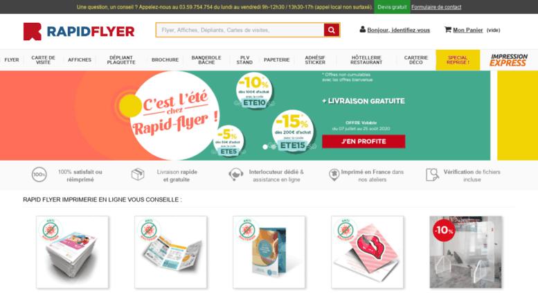 Access Rapidflyerfr Imprimerie En Ligne Rapid Flyer