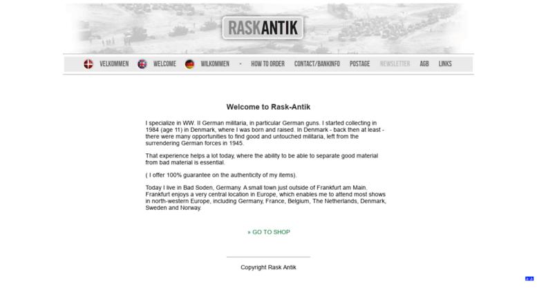 Access raskantik com  Rask Antik - WWII German military antiques