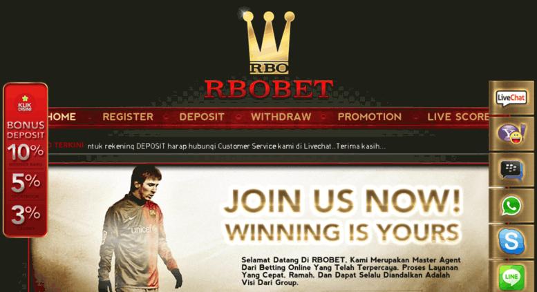 Access Rbo4u Com Rbo4u Master Agen Bola Judi Bola Agen Casino Online