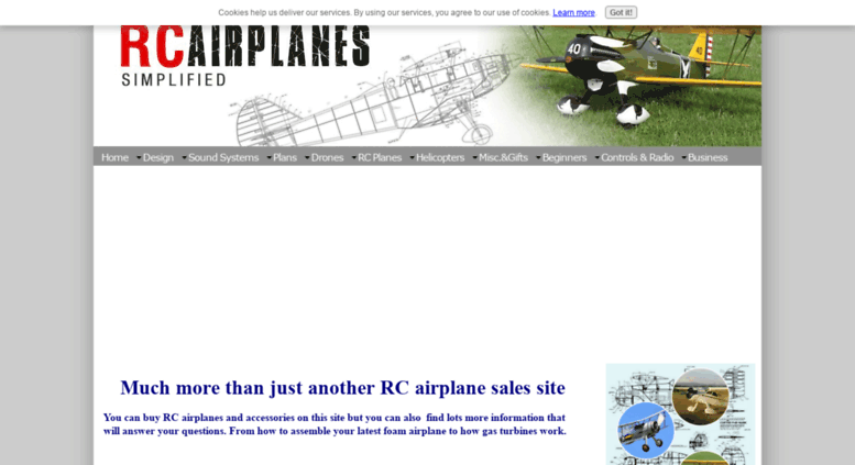 Access rc-airplanes-simplified com  RC Airplanes Simplified
