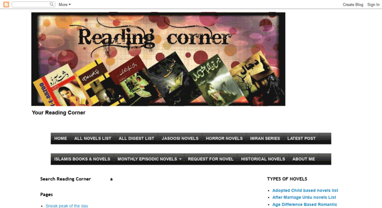 Access readingcornerpk blogspot com  Reading Corner- Huge collection
