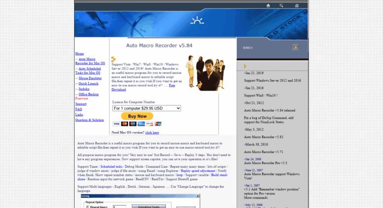 Access readmesoft com  ReadmeSoft: Auto Macro Recorder