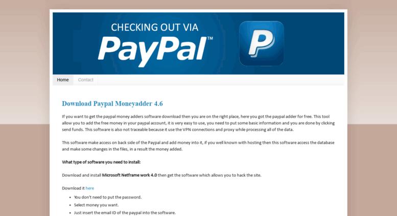 realpaypalmoneyblogspotie screenshot