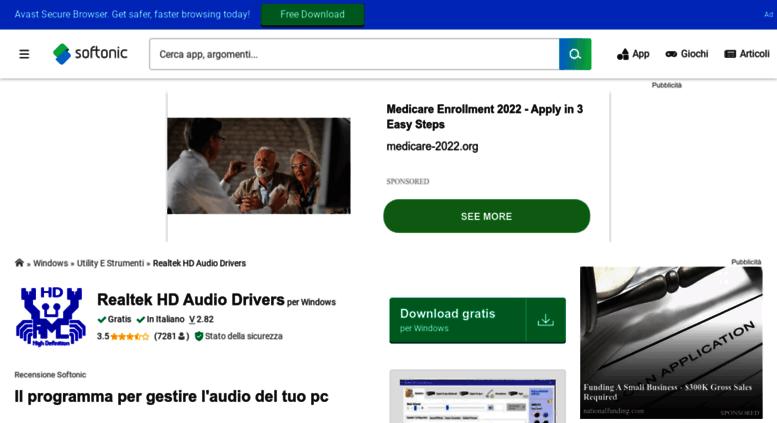 realtek hd audio driver latest version download