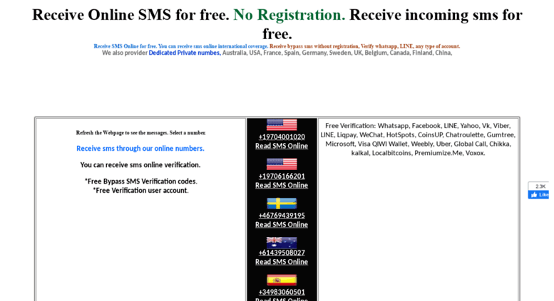 Access receiveonlinesms biz  Account Suspended