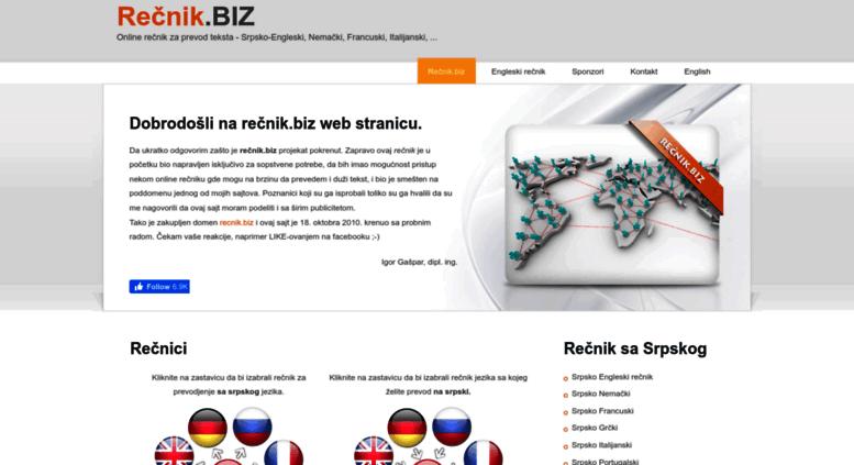 Access Recnik Biz Recnik Biz Besplatni Online Recnik Za Prevod