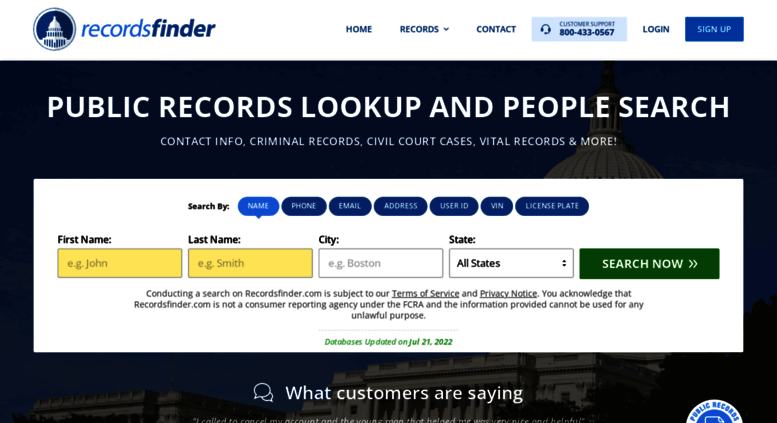 Access recordsfinder com  Public Records Lookup - Find Criminal