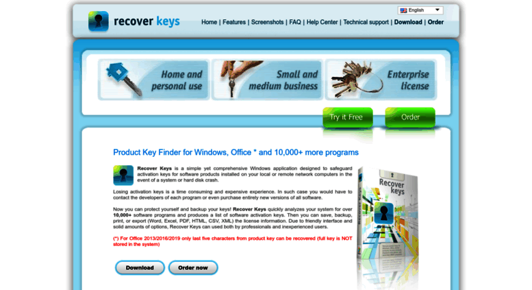 product key recovery software download
