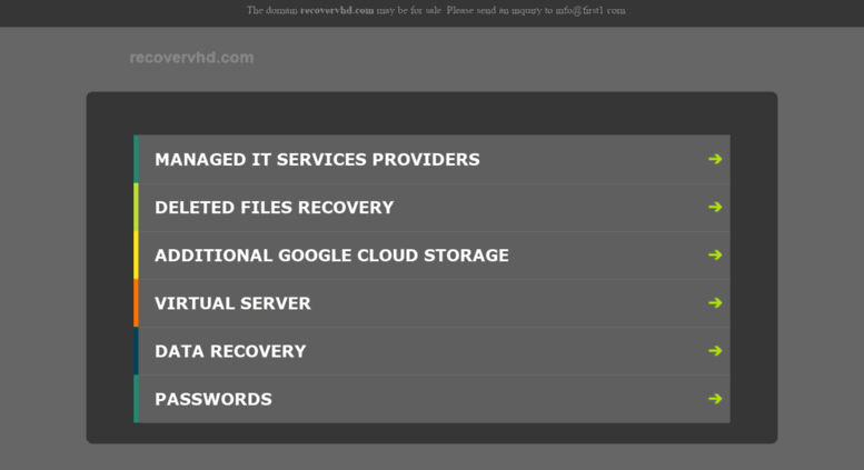 Access recovervhd com  Restore VHD Software Effectively