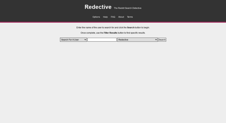 Access redective com  Redective - The Reddit Search Detective