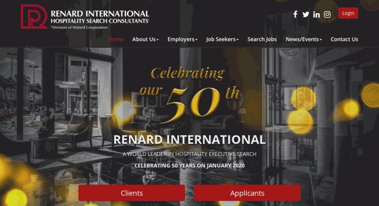 Access renardinternational com  Hospitality Industry
