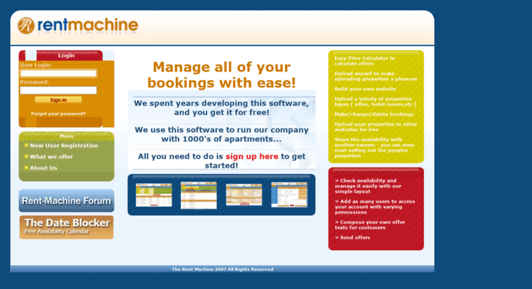 Access Rent Machine Com Property Management Software Free