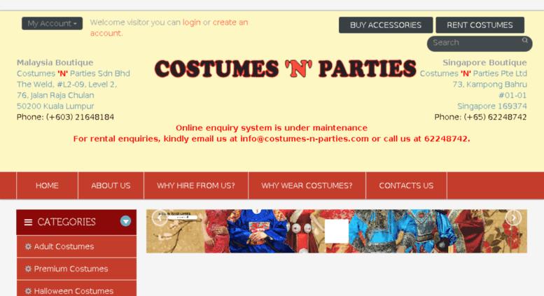 Access rent.costumes,n,parties.com. Costumes \u0027N\u0027 Parties