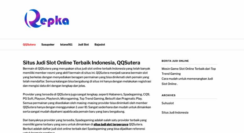 Access Repka Tv Situs Judi Slot Online Terbaik Indonesia Qqsutera