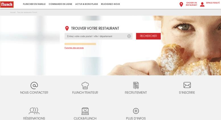 345fe968406ea Access restaurant.flunch.fr. Flunch - Trouver Le Restaurant le Plus ...