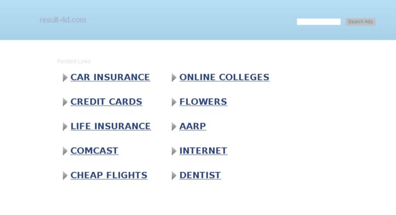 Access result-4d com  result-4d com | result-4d-on toto 4d