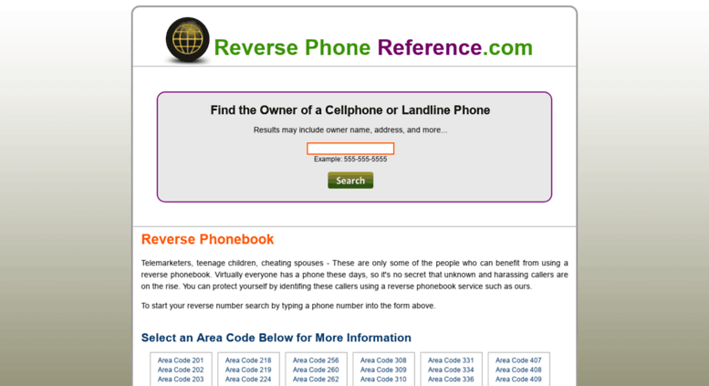 Access reverse-phone-reference com  Reverse Phonebook | Phone Number