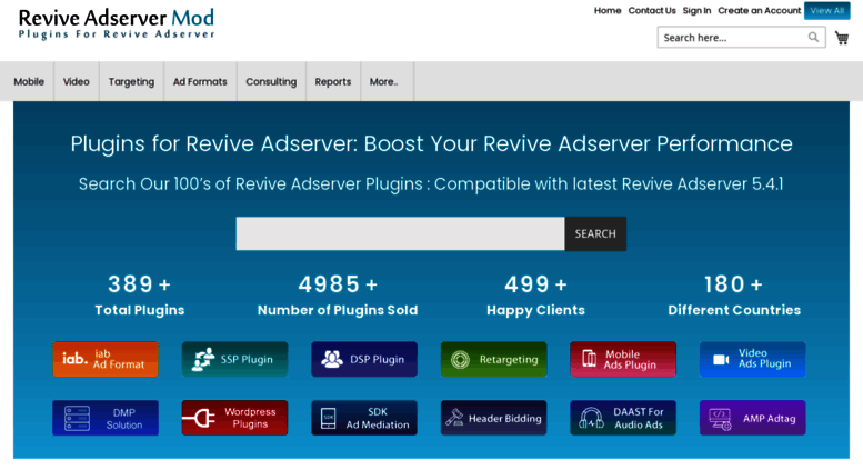 Access reviveadservermod com  Plugins for Revive Adserver with