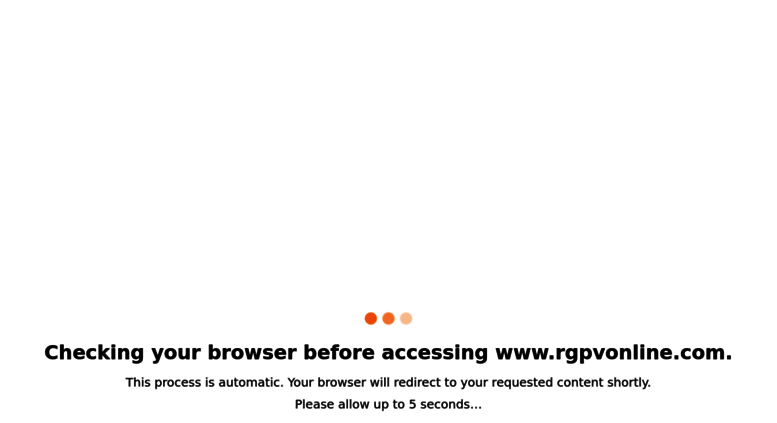 Access rgpvonline com  RGPV Question Papers with Solutions