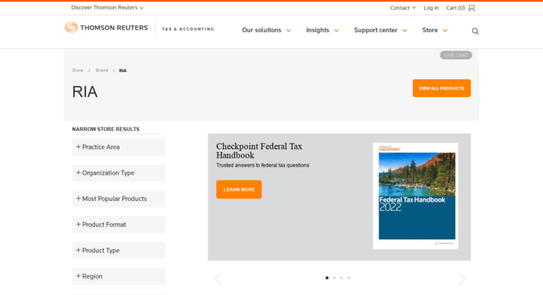 Access ria thomsonreuters com  RIA Tax, Pension Benefits