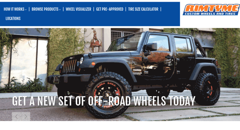 Access Rimtyme Com Custom Wheels And Tires At Great Prices Custom