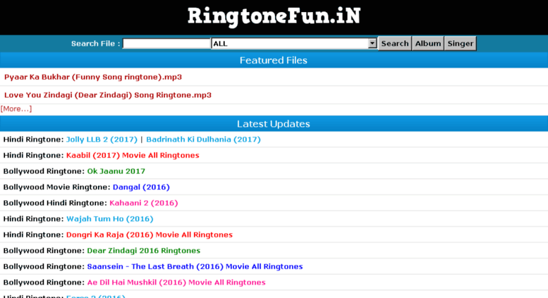 new ringtone song download 2017