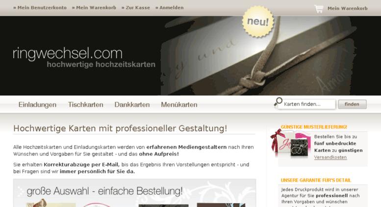 Access Ringwechsel Com Einladungen Zur Hochzeit Hochwertige