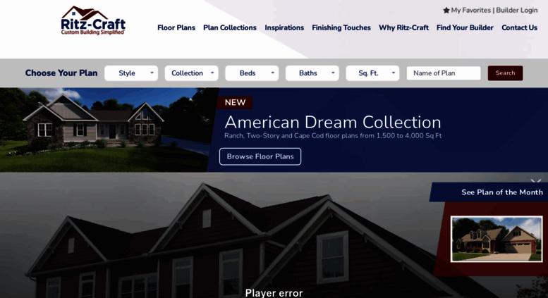 Access Ritz Craft Com Modular Home Manufacturer Ritz Craft Homes