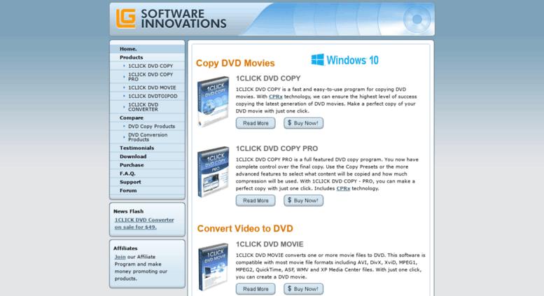 Access Rnlgsoftwareinnovations 1CLICK DVD COPY