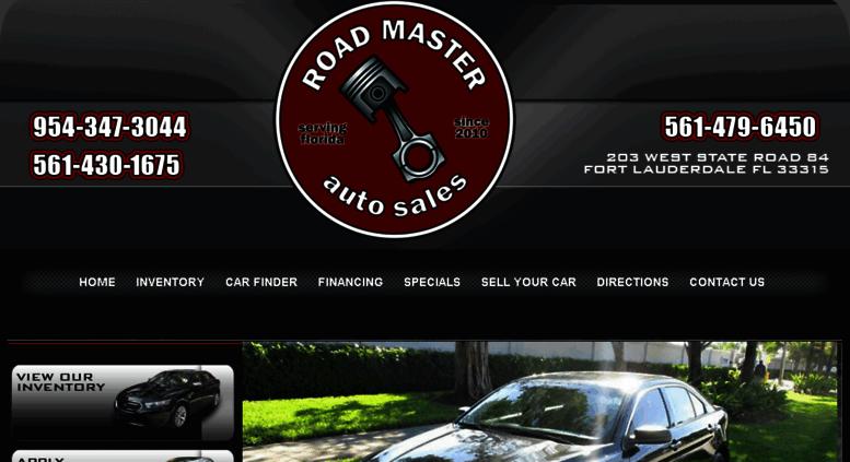 Roadmaster Auto Sales >> Access Roadmastersf Com Roadmaster Auto Sales Buy Here