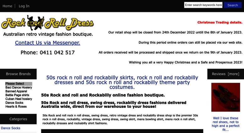 Access rockandrolldress com au  Retro Vintage inspired, 50s