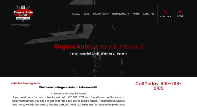 Rogers Auto Sales >> Access Rogersautosales Com Rogers Auto Late Model