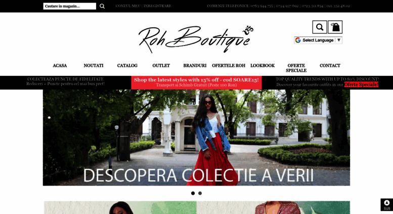 drăguţ pantofi ieftin stil clasic Access rohboutique.ro. RohBoutique.ro - Haine Online ...