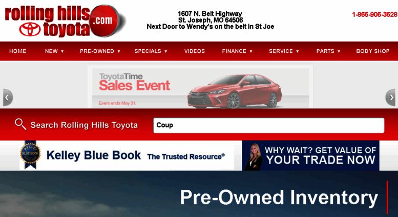 Toyota Dealers In Kansas >> Access Rollinghillstoyota Dealereprocess Com Rolling Hills
