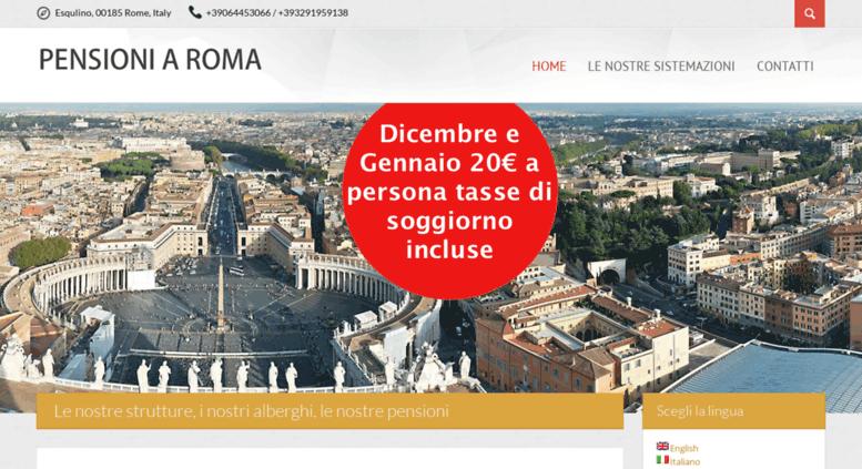 Access roma-hoteleconomici.com. Pensioni a Roma centro ...