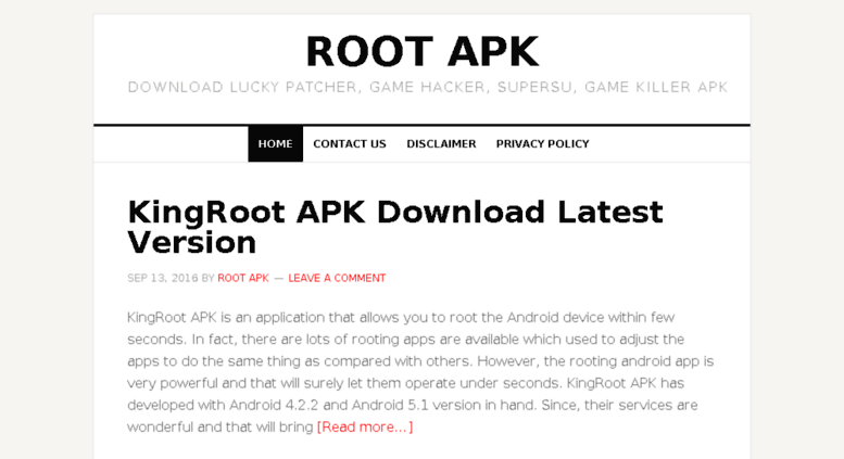 Access rootapk com  Root APK - Download Lucky Patcher, Game Hacker