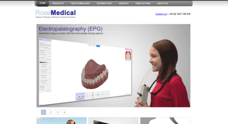 Access rose-medical com  Speech therapy software | English