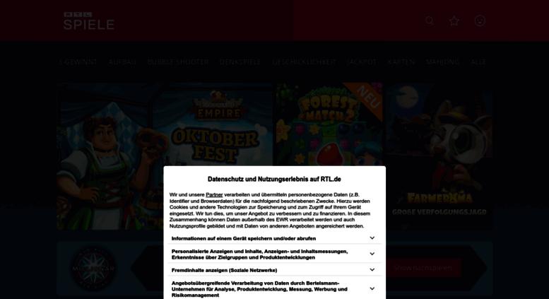 Access Rtlspielede Kostenlose Online Spiele Jetzt Spielen Bei