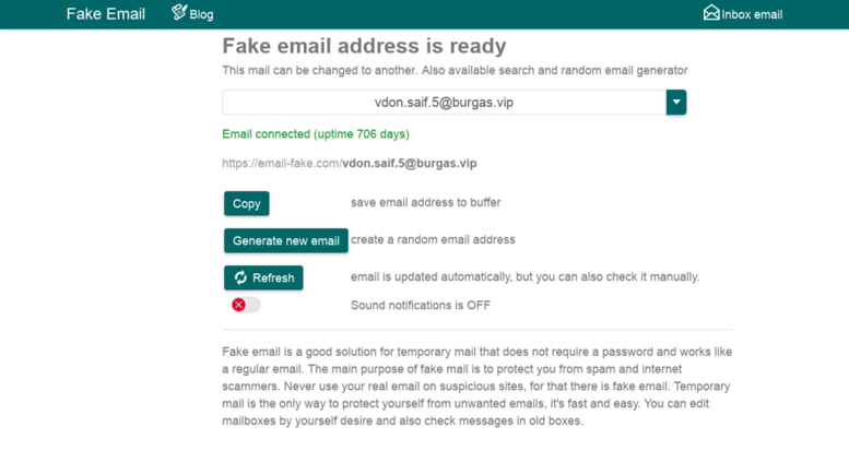 Access ru email-fake com  Fake Email - Disposable Temporary
