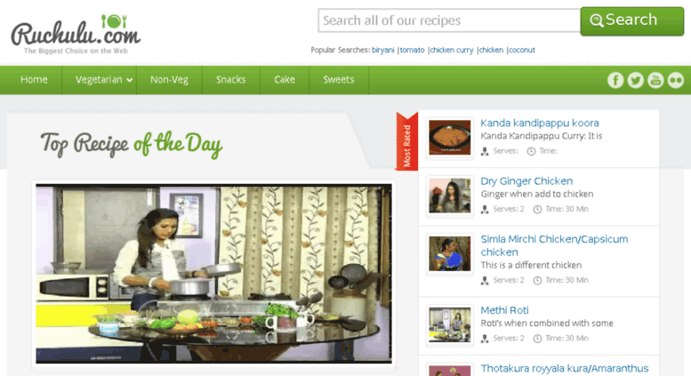 Access ruchulu com  Andhra Recipes, Cooking, Videos, Telugu Vantalu