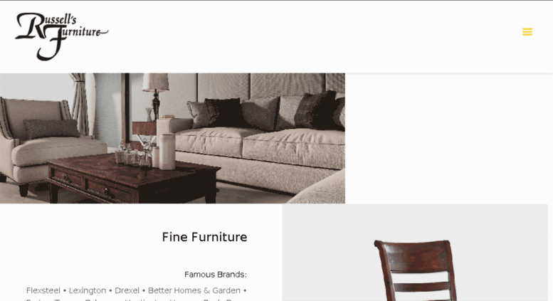 Russellsfinefurniture.net Screenshot