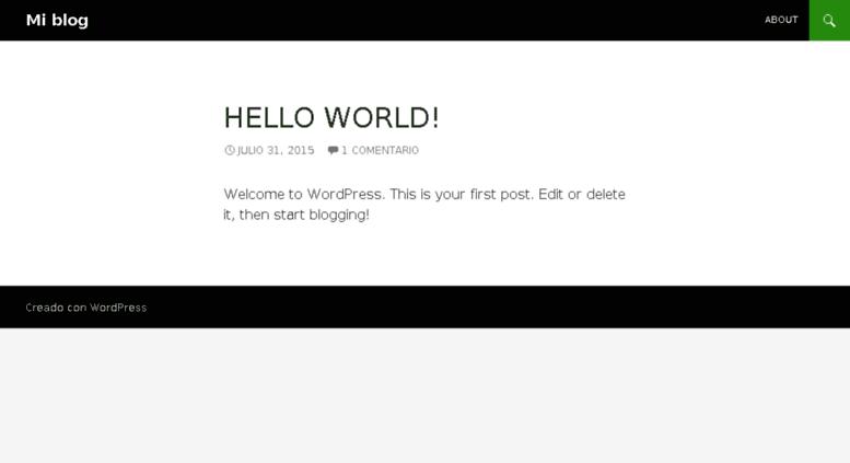 Access rutilandia com  Mi blog | Sólo otro sitio de WordPress