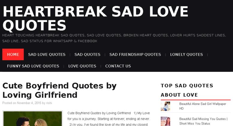 Access Sadlovequotesin Heartbreak Sad Quotes Sad Love Quotes