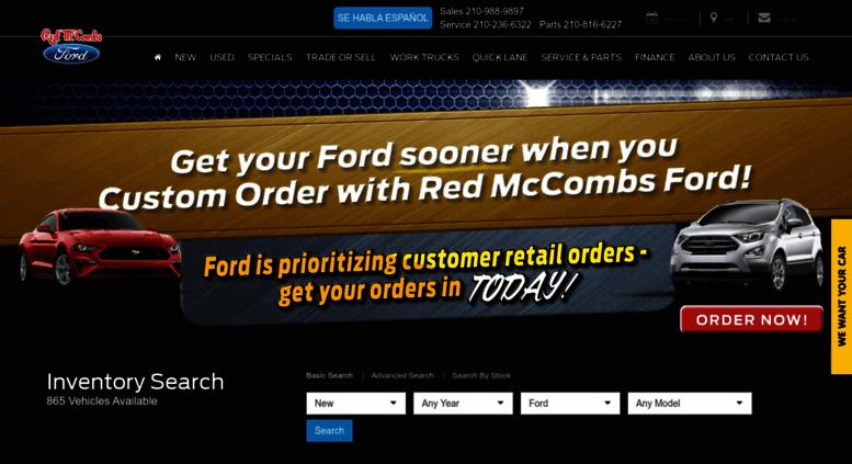 Access Saford Com Red Mccombs Ford In San Antonio Tx San Antonio