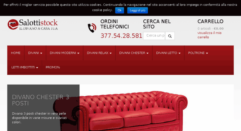 Access salottistock.it. Salottistock.it | Vendita online di ...