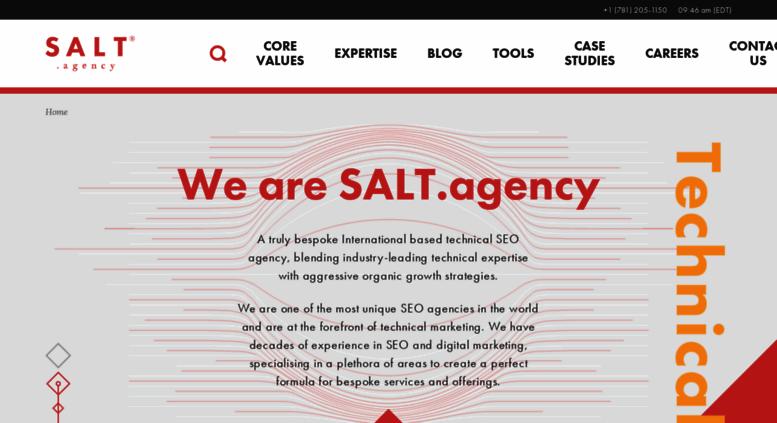 Access salt agency  SALT agency® A Technical SEO Agency in Leeds