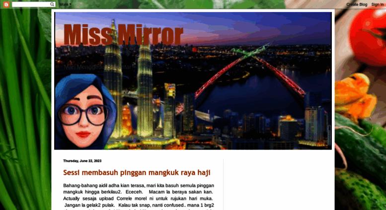 Access Sam Puansyurga Blogspot Com Miss Mirror